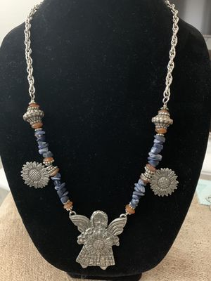 Marcie Pewter Necklace for Sale in Austin, TX