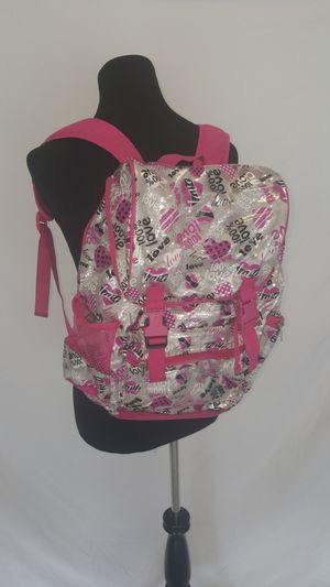 Silver/Pink Backpack for Sale in Saint Cloud, FL