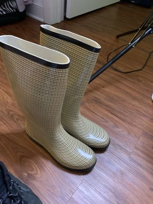 Tall rain boots size 8 for Sale in Washington, DC