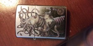 Medusa zippo lighter with fluid for Sale in St. Peters, MO