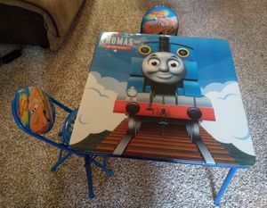 Disney Kids Foldable Table and Chairs Set for Sale in Woodinville, WA