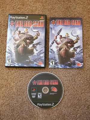 The red star PS2 for Sale in West Jordan, UT