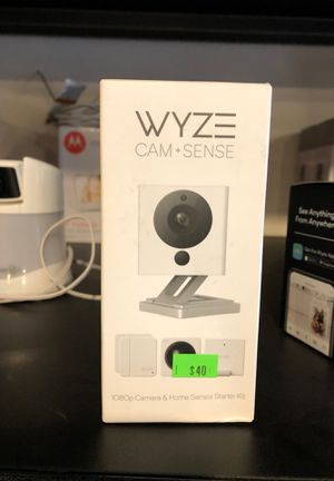 WYZE cam + sense camera for Sale in Olympia, WA