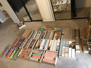 Over 50k Baseball card Collection-70's-90's. No shopping at pick up, Entire Lot for sale. Complete and incomplete sets.Topps Donruss Score Fleer for Sale in Paramount, CA