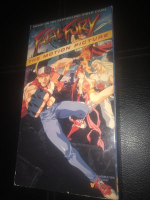 Fatal Fury VHS 📼 for Sale in Corona, CA