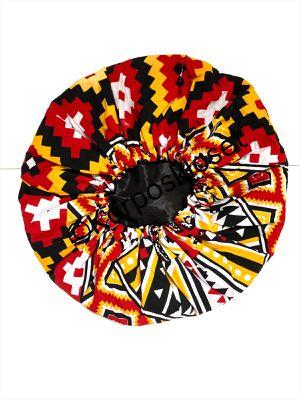Ankara Print Satin Lines Hair Bonnet for Sale in Charlotte, NC
