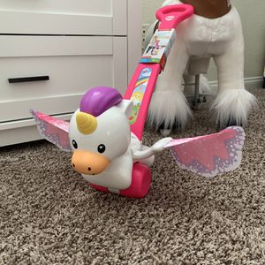 Fisher-Price Push & Flutter Unicorn - Brand New for Sale in Las Vegas, NV