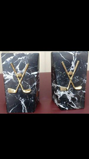 ( x2, you will get two ) Noymer Real Marble Bookends ☆ Real Marble Made In Pakistan ☆ for Sale in Fort Washington, MD