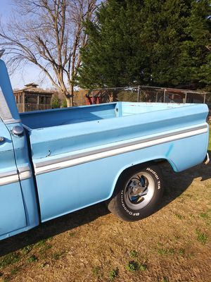 Chevy C10 1966 truck motor trans are fine drive anywhere 3on the tree 6cylinder needs heater core needs sum TLC for Sale in Randleman, NC