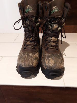 Hunter boots mens Rocky size 9.5w $70 for Sale in Glendale, AZ