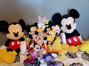Mickey Mouse Stuffed Animal Lot for Sale in Goodlettsville, TN