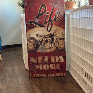 Large Print Wall Art Motorcycle for Sale in Seattle, WA