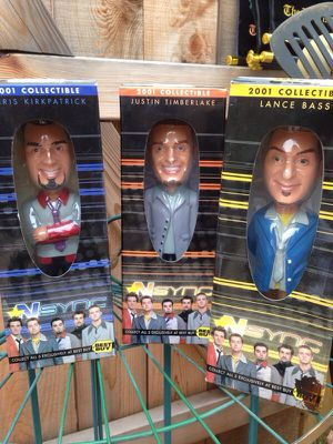 Nsync 2001 Collectible Toys for Sale in North Bethesda, MD