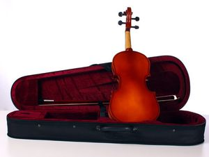 4/4 violin solid spruce top maple back ebony fingerboard w case and bow for Sale in Carlsbad, CA