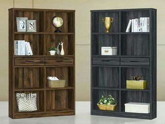 New! Double Bookcase W/ Drawer *FREE SAME-DAY DELIVERY* for Sale in Silver Spring,  MD