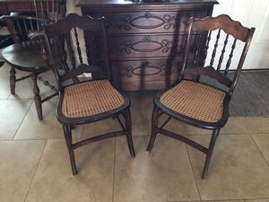 Antique Chairs-$40 for the set for Sale in Surprise, AZ