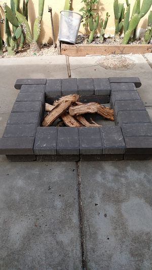 Back yard fire pit Bran new just ready to instal 32 pieces for Sale in Seaside, CA