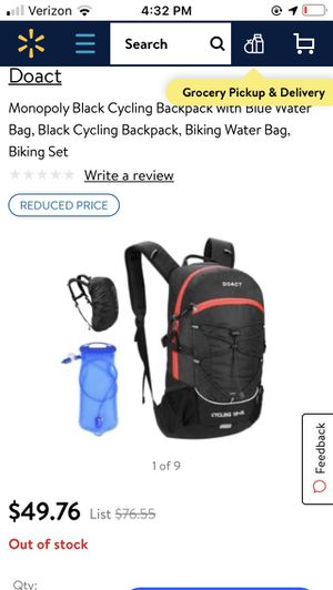 Hiking/ Biking/jogging hydration backpack for Sale in Chino Hills, CA
