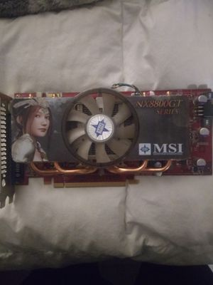 MSI NX8800GT Video Card for Sale in Springfield, OR