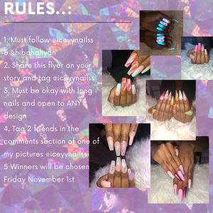 Instagram Nail Giveaway for Sale in Los Angeles, CA