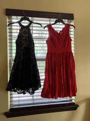 2 homecoming dresses, 2 prom dresses, 2 pairs of high heels for Sale in Haines City, FL