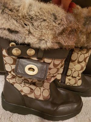 Coach fur boots for Sale in Mercer Island, WA
