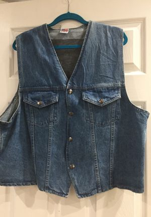 Denim Motorcycle Vest for Sale in Hialeah, FL