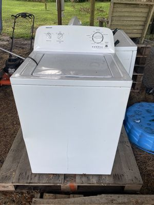 Admiral washer and Amana dryer for Sale in Dade City, FL