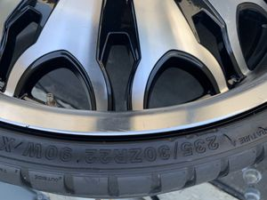 I sell one my wheels and tires , size 22 for Sale in Calabasas, CA
