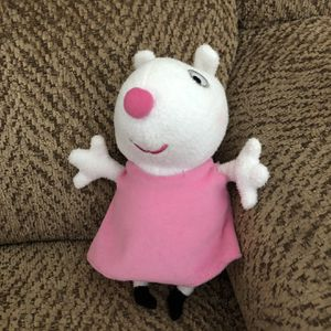 """Peppa Pig talking Suzy Sheep 7"""" Plush toy for Sale in St. Peters, MO"""