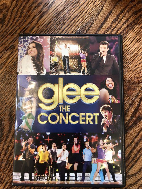 Glee the Concert DVD