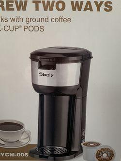 Sboly Single Brew Coffee Maker for Sale in Woodinville,  WA