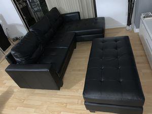 Sofa with ottoman for Sale in North Miami, FL