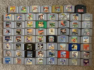 Nintendo N64 Games Mario Pokemon Starfox 007 etc. - Prices in Description for Sale in Monroeville, PA