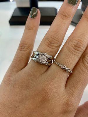14K White Gold Diamond Engagement Ring for Sale in Austin, TX