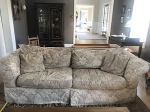 Sleeper sofa and oversized chair for Sale in Rockville, MD