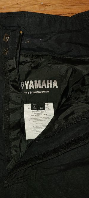 Yamaha Weatherproof Motorcycle Pants for Sale in Vernon, CA