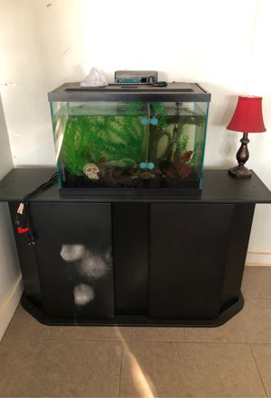 Fish tank and stand for Sale in Reedley, CA