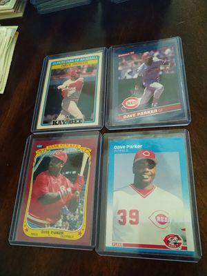 Cincinnati Reds Dave the Cobra Parker Baseball Cards lot for Sale in Tampa, FL