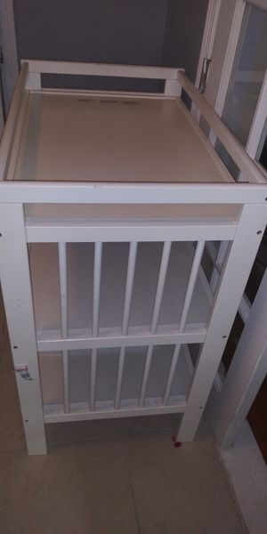 Ikea changing table. Crib no longer available. for Sale in Tampa, FL