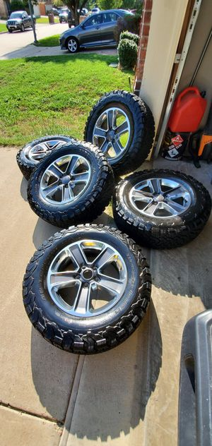 5 x Jeep KO2's GREAT tire life! 275/65/18 for Sale in Fort Worth, TX