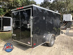 SPECIAL SALE! $2199 YOU CANT BEAT THE PRICE FOR A 6x12 ENCLOSED TRAILER! BARE BONES! IN STOCK! for Sale in Tampa, FL