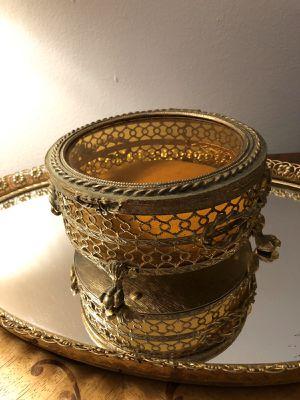Antique box brass 7 inch for Sale in Wilmette, IL
