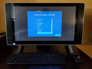 HP Envy 24-n014 all-in-1 Touch Screen for Sale in Silver Spring, MD