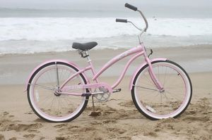 New Firmstrong Urban Lady Single Speed Beach Cruiser Bicycle, 26-Inch, Pink for Sale in Miami, FL