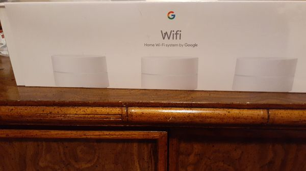 Google wifi home system