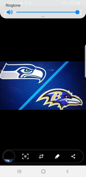 Seahawks vs Ravens, 2 tix, $140 ea for Sale in Maple Valley, WA