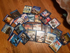 24 blue ray DVDs for Sale in Manton, MI