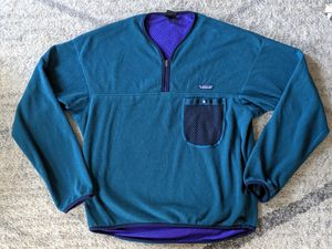 Vintage Patagonia Fleece Capilene Pullover Jacket Mesh Lined 90s Size L for Sale in Knightdale, NC