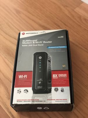 Modem and Wi-Fi Router N300 for Sale in Poway, CA